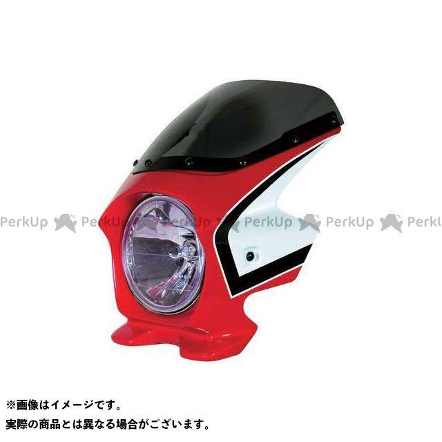 BLUSTER2 CB750 カウル・エアロ ビキニカウル CB750(04-08) カラー:キャンディブレイジングレッド/ホワイト(複色) スクリーン仕様:スタンダード ブラスター2