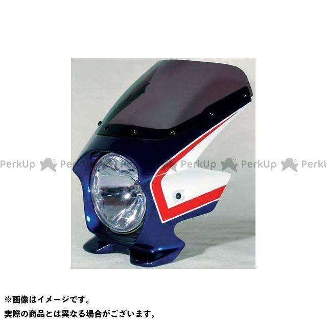 BLUSTER2 CB750 カウル・エアロ ビキニカウル CB750(05-08) カラー:パールヘロンブルー/ホワイト(複色) スクリーン仕様:スタンダード ブラスター2