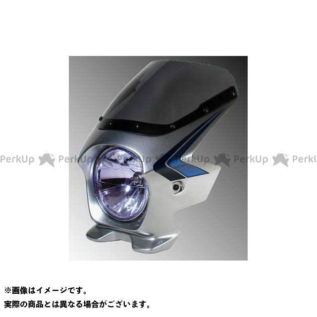 BLUSTER2 CB750 カウル・エアロ ビキニカウル CB750(07) デジタルシルバーメタリック(ストライプ) エアロ ブラスター2