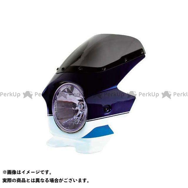 BLUSTER2 GSX1400 カウル・エアロ ビキニカウル GSX1400(01) カラー:パールスチルホワイト/パールミディアムブルー スクリーン仕様:スタンダード ブラスター2