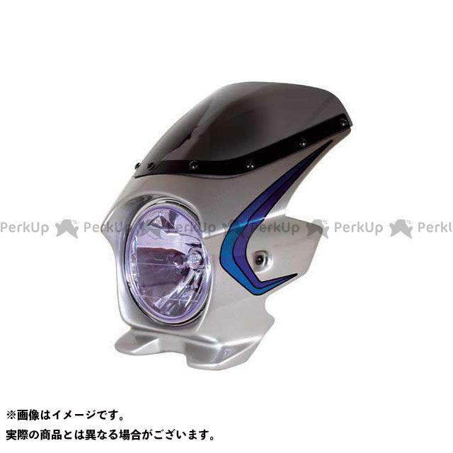 BLUSTER2 XJR1300 カウル・エアロ ビキニカウル XJR1300(04) カラー:シルバー3(ストライプ) スクリーン仕様:スタンダード ブラスター2