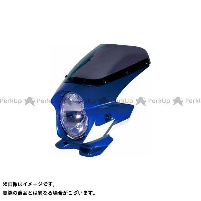 BLUSTER2 XJR1300 カウル・エアロ ビキニカウル XJR1300(05) カラー:ディープパープリッシュブルーメタリックC(ストロボ) スクリーン仕様:スタンダード ブラスター2