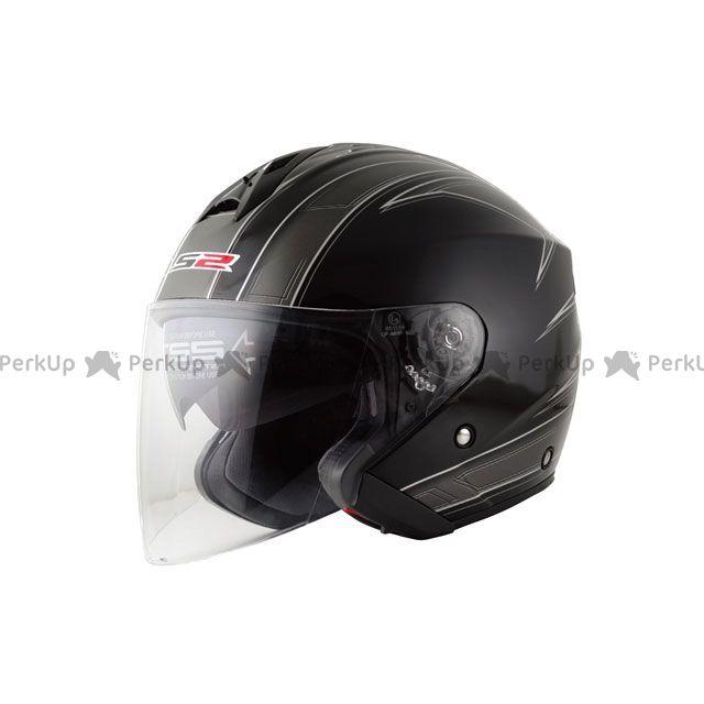 送料無料 LS2 HELMETS エルエスツー ジェットヘルメット 【売り尽くし】 LS2 FREEWAY(フリーウェイ) グラフィックモデル エスプリ ブラック XL/61-62cm