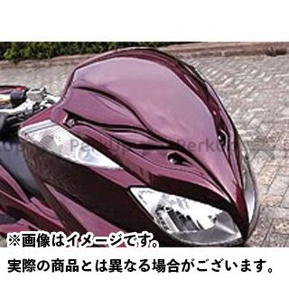 エスピーアイ グランドマジェスティ250 カウル・エアロ デストロイヤー・フェイス(純正色塗装済/ホワイト) SPI