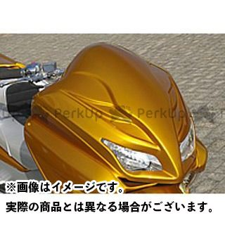 エスピーアイ フォルツァX フォルツァZ カウル・エアロ デストロイヤー・フェイス 前期型 カラー:純正色塗装済/ブラック SPI