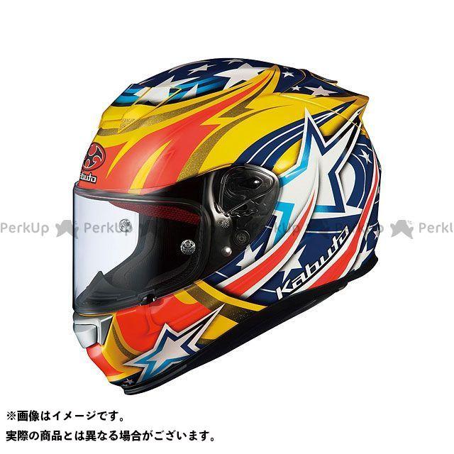 オージーケーカブト フルフェイスヘルメット RT-33 ACTIVE STAR(アクティブスター) イエロー XL OGK KABUTO