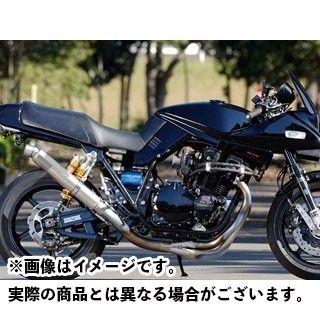 NITRO RACING GSX1100Sカタナ マフラー本体 4in1 手曲げチタンEXマフラー UPタイプ ストレイトチタンサイレンサー V-2 サイレンサーサイズ:φ85/420mm ナイトロレーシング