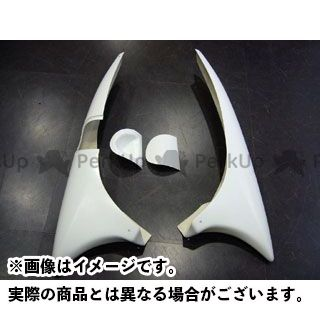KOTANI MOTORS フォルツァX フォルツァZ カウル・エアロ FORZA(MF08)用デビルアンダーウイング カラー:純正塗装済(シルバー) タイプ:Ztype コタニ