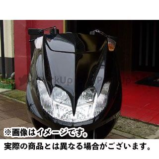 KOTANI MOTORS マグザム カウル・エアロ MAXAM用デビルマスクSS カラー:純正塗装済ホワイト 型式:SG21J コタニ
