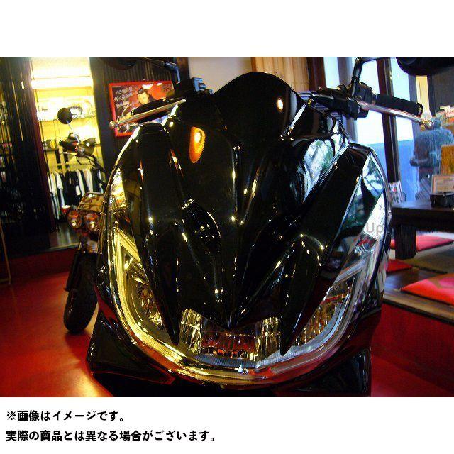 KOTANI MOTORS PCX125 PCX150 カウル・エアロ 新型PCX用デビルマスク カラー:ブラックメタリック コタニ