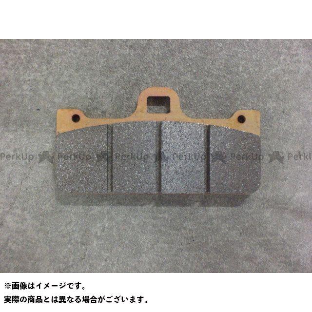 ZCOO 汎用 ブレーキパッド ZRM-B004C セラミックシンタード TYPE-C ジクー