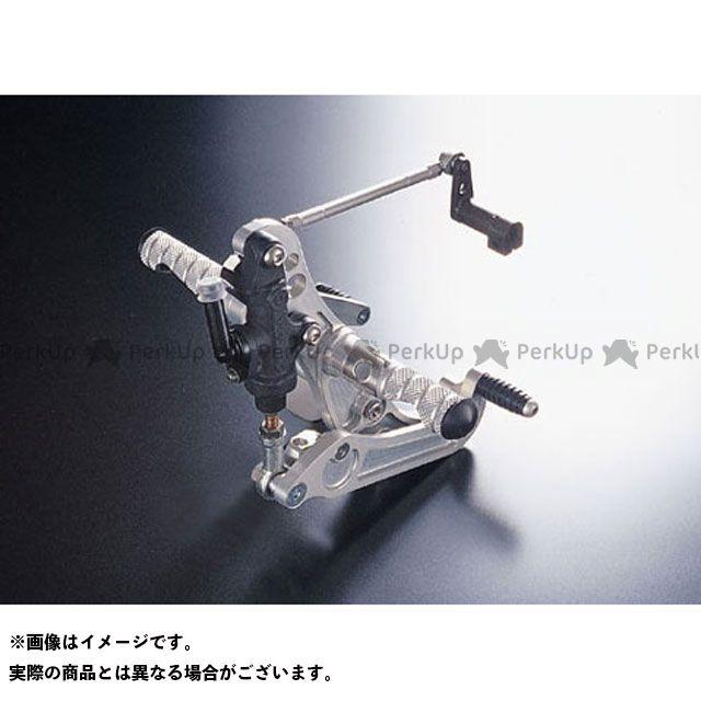 【無料雑誌付き】CRAFTMAN SR400 SR500 バックステップ関連パーツ SR用 バックステップキット(シルバーアルマイト) 仕様:リアブレーキディスク仕様 クラフトマン