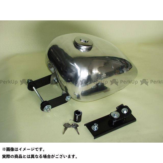 BIG CEDAR SR400 SR500 タンク関連パーツ ピーナツアルミタンク 仕様:バフ無し ビッグシーダー