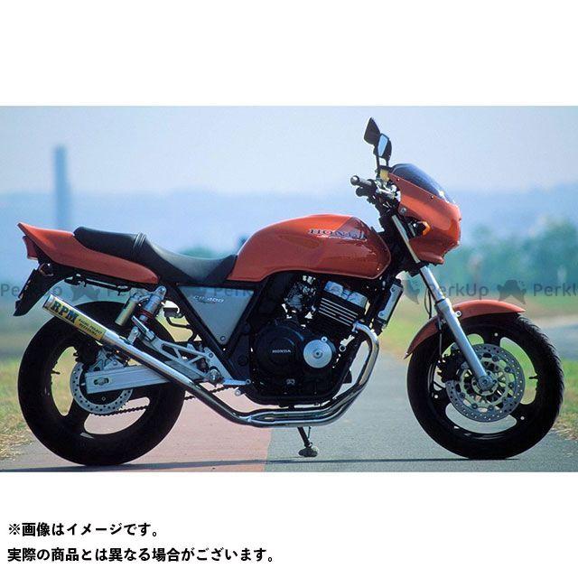 アールピーエム CB400スーパーフォア(CB400SF) CB400スーパーフォア バージョンR(CB400SF) マフラー本体 RPM 4in2in1 フルエキゾーストマフラー サイレンサーカバー:アルミ RPM