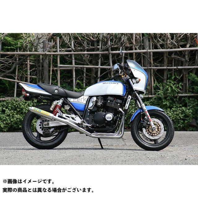 アールピーエム GSX400インパルス GSX400インパルス タイプS マフラー本体 RPM 4in2in1 フルエキゾーストマフラー サイレンサーカバー:アルミ RPM