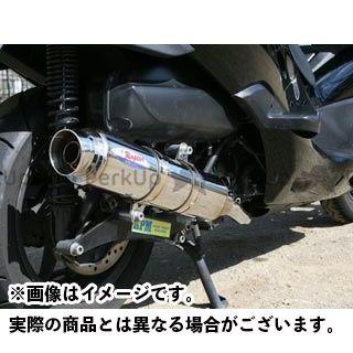 アールピーエム ファントムマックス250 マフラー本体 80D-RAPTOR フルエキゾーストマフラー サイレンサーカバー:ステンレス RPM