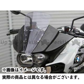 ササキスポーツクラブ K1200R K1300R カウル・エアロ フロントハーフカウル(ドライカーボン) 仕様:ロースクリーン ササキスポーツ