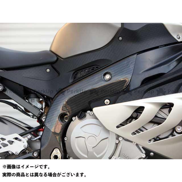 ササキスポーツクラブ HP4 S1000RR マフラーカバー・ヒートガード フレームヒートガード・LRセット(ドライカーボン) 仕様:ショート ササキスポーツ