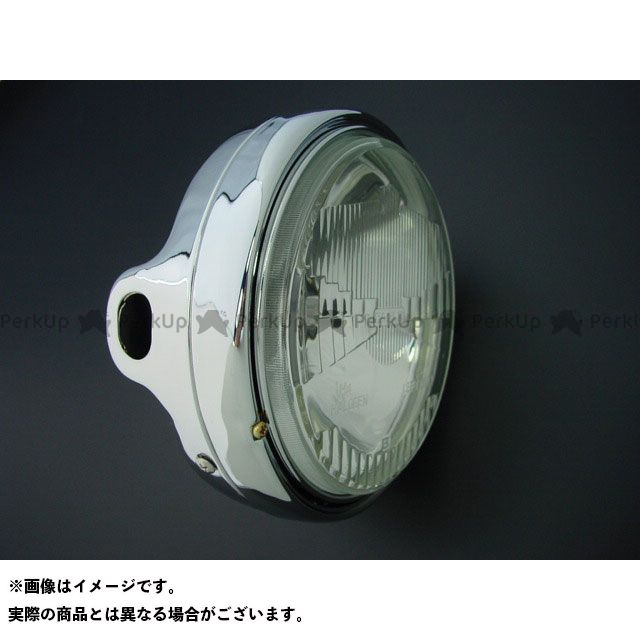 BRC ビーアールシー ヘッドライト・バルブ Z400FX/Z1/Z2 イーグルヘッドライト メッキケース付