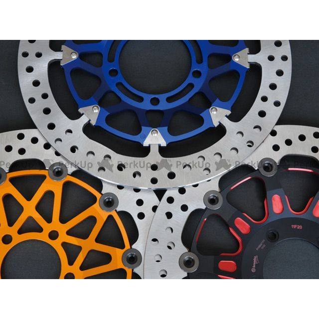 【エントリーでポイント10倍】送料無料 コーケン FZ1(FZ1-N) YZF-R1 YZF-R6 ブレーキキット ブレンボ カラーフローティングディスクキット φ320 YAMAHA パープル