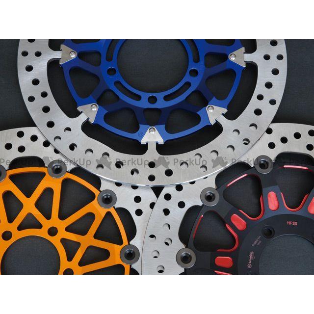KOHKEN スピードトリプル ブレーキキット ブレンボ カラーフローティングディスクキット φ320 TRIUMPH ブルー