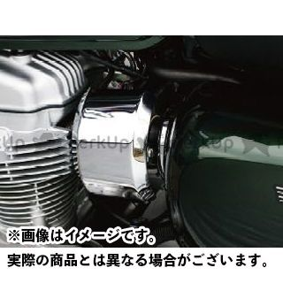 PLOT W800 インジェクション関連パーツ インジェクションカバー(メッキ)  プロト