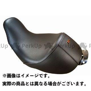 【無料雑誌付き】ケイアンドエイチ シート関連パーツ Super Low シート プレーン ユーロライン 年式:2012 適合車種:FLHR K&H