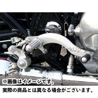 ビートジャパン エストレヤ バックステップ関連パーツ ハイパーバンク 固定式(シルバー) BEET