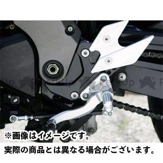 【無料雑誌付き】ビートジャパン Z750 Z750S バックステップ関連パーツ ハイパーバンク 可倒式(シルバー) 04-06年用 BEET