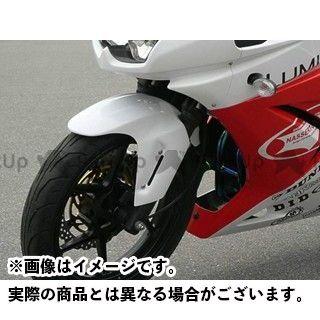 ビートジャパン ニンジャ250R フェンダー エアロシャークフェンダー(白ゲル)