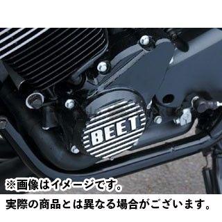 ビートジャパン CB400スーパーフォア(CB400SF) エンジンカバー関連パーツ スターターカバー カラー:ブラック BEET