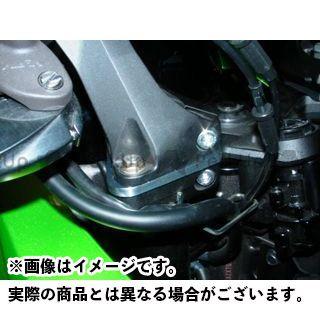ビートジャパン ニンジャ1000・Z1000SX ハンドル周辺パーツ ハンドルアップスペーサー 12mmUP シャンパンゴールド