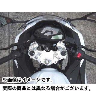 ビートジャパン ニンジャ250 ニンジャ250R ハンドル関連パーツ レーシングハンドルキット TYPE2 ブラック BEET