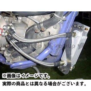 ビートジャパン 250SB Dトラッカー KLX250 オイルクーラー NASSERT オイルクーラーキット  BEET