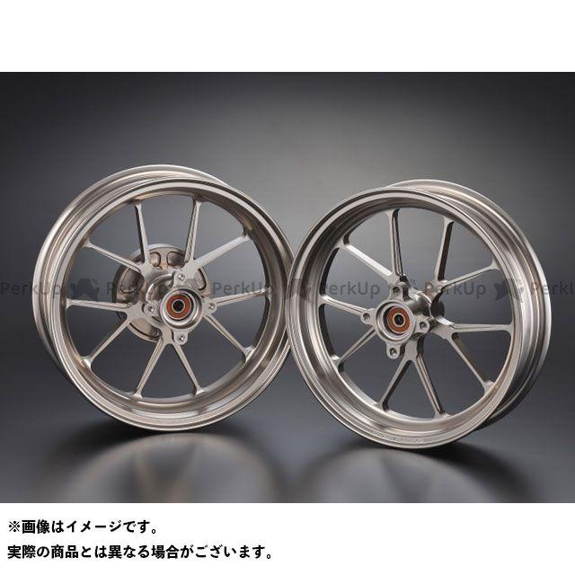 OVER RACING グロム ホイール本体 GP-TEN ホイールセット 2.70/3.50-12 カラー:チタン オーバーレーシング