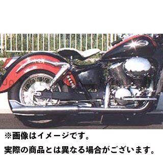American Dreams シャドウ400 シャドウ750 マフラー本体 2in1 バズーカフィッシュマフラー 排気量:400cc アメリカンドリームス