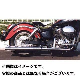 【無料雑誌付き】American Dreams シャドウ400 シャドウ750 マフラー本体 2in1 ロングバズーカフィッシュマフラー サイレンサーのみ 排気量:400cc アメリカンドリームス