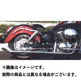 【エントリーで最大P21倍】American Dreams シャドウ400 シャドウ750 マフラー本体 2in1 ゴードンフィッシュマフラー 排気量:750cc アメリカンドリームス