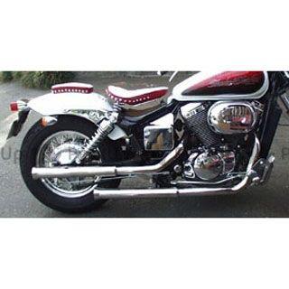 【エントリーでポイント10倍】 アメリカンドリームス シャドウスラッシャー シャドウスラッシャー750 マフラー本体 ファイヤーチップドラックマフラー 750cc