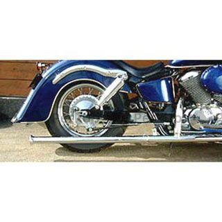 American Dreams シャドウスラッシャー シャドウスラッシャー750 マフラー本体 2in1 軍用マフラー 1型 サイレンサーのみ 400cc アメリカンドリームス