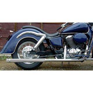 American Dreams シャドウスラッシャー シャドウスラッシャー750 マフラー本体 2in1 ロングガトリングマフラー サイレンサーのみ 750cc アメリカンドリームス