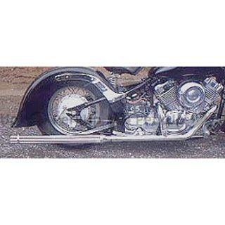 American Dreams ドラッグスター400(DS4) マフラー本体 2in1 ショートガトリングマフラー