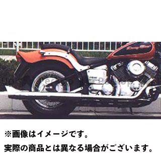 American Dreams ドラッグスタークラシック400(DSC4) マフラー本体 2in1 ロングバズーカフィッシュマフラー サイレンサーのみ  アメリカンドリームス
