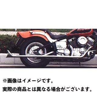 【無料雑誌付き】American Dreams ドラッグスタークラシック400(DSC4) マフラー本体 2in1 ストレートフィッシュマフラー サイレンサーのみ タイプ:低重音タイプ(バッフル脱着不可) アメリカンドリームス
