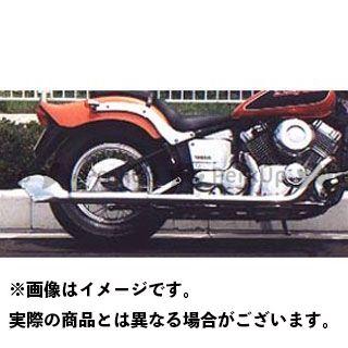 American Dreams ドラッグスタークラシック400(DSC4) マフラー本体 2in1 ゴードンフィッシュマフラー サイレンサーのみ アメリカンドリームス