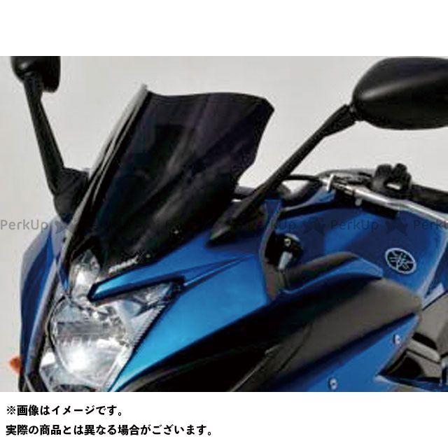 【エントリーで更にP5倍】ERMAX XJ6ディバージョンF スクリーン関連パーツ スクリーン Aeromax(エアロタイプ) カラー:グレークリアー アルマックス