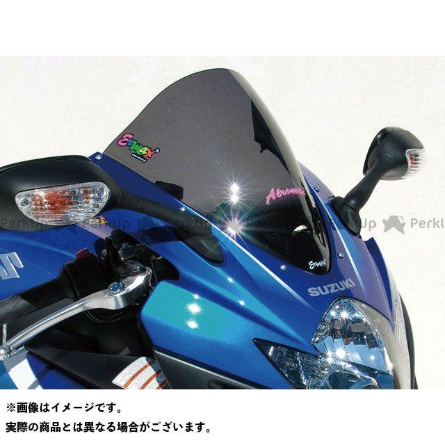 【エントリーで更にP5倍】ERMAX GSX-R600 GSX-R750 スクリーン関連パーツ スクリーン Aeromax(エアロタイプ) クリアー アルマックス