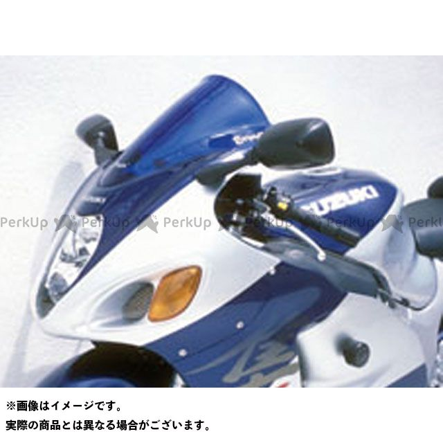 送料無料 ERMAX 隼 ハヤブサ スクリーン関連パーツ スクリーン Aeromax(エアロタイプ) ブラック