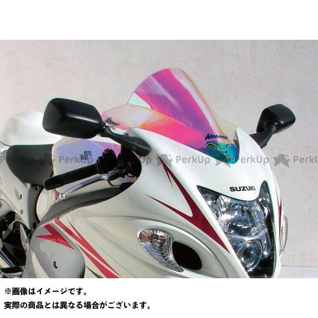 【エントリーで更にP5倍】ERMAX 隼 ハヤブサ スクリーン関連パーツ スクリーン Aeromax(エアロタイプ) カラー:クリアー アルマックス