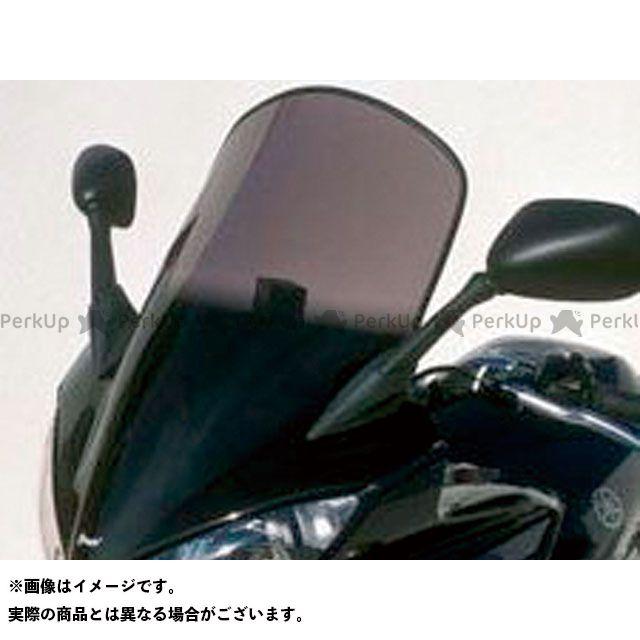 【エントリーで更にP5倍】ERMAX FZS600フェザー スクリーン関連パーツ スクリーン Bulles(スタンダードタイプ) 10cmロング クリアー アルマックス